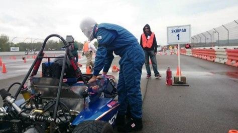 Skidpad Fórmula SAE 2015