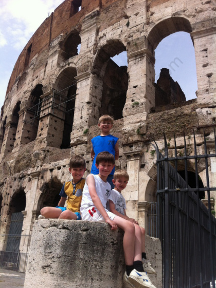 colosseum and the boys