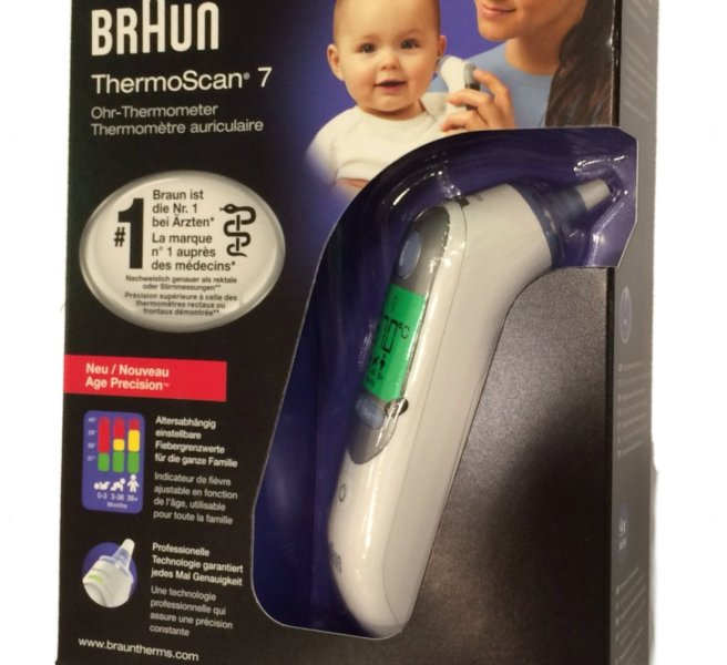 braun thermoscan7