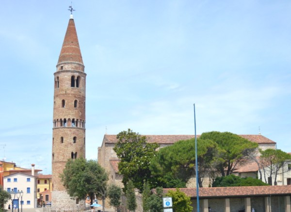 cathedral belltower caorle