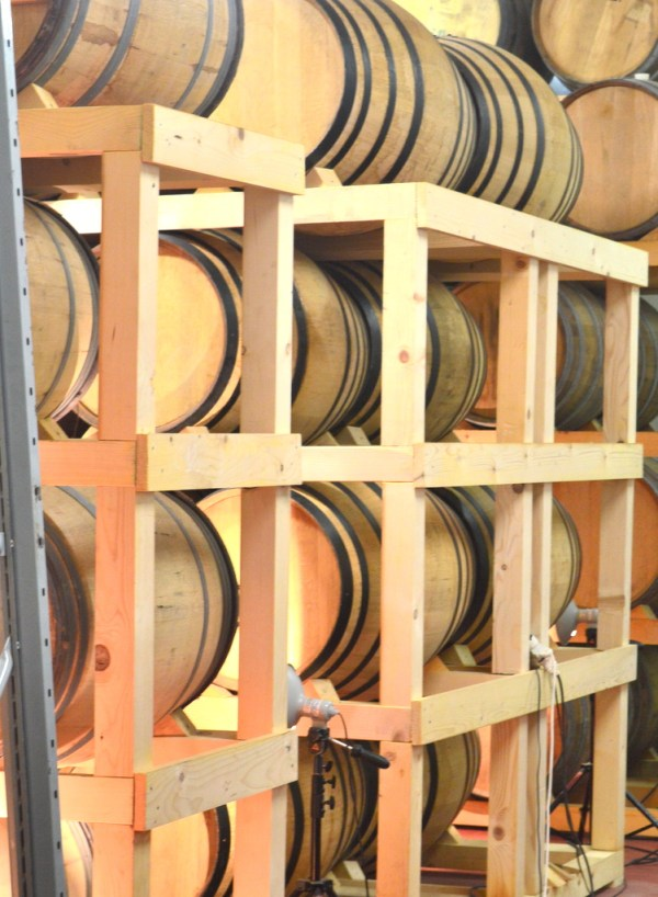 barrels of grappa