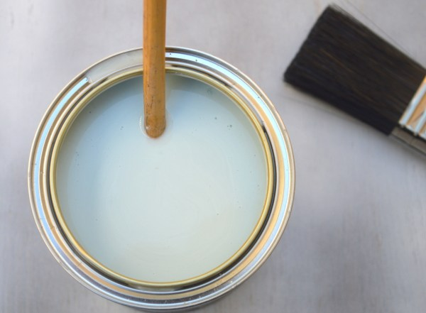 stirred rustoleum chalky furniture paint