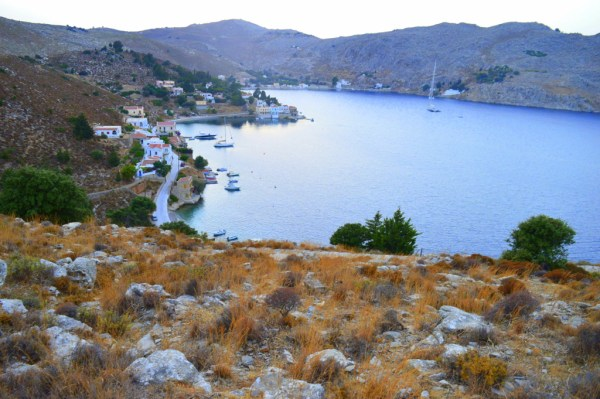Symi - view over