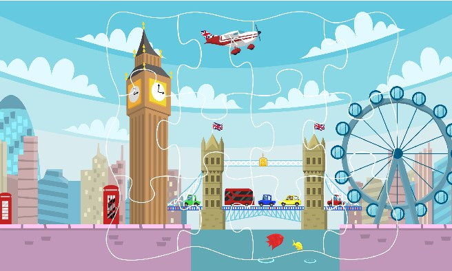 Travel Playtime jigsaw