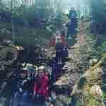 children on steps at manor park