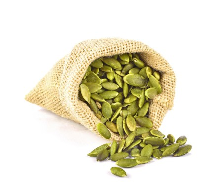Pumpkin Seed isolated on white background