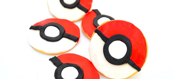 pokemon pokeball cookies biscuits recipe
