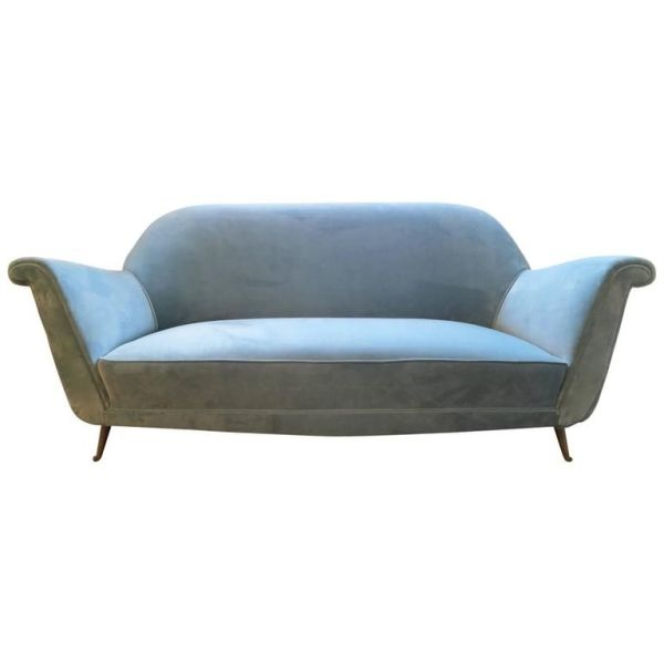 kairos collective velvet sofa