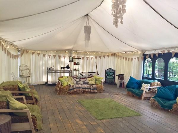 Jollydays Glamping Tea Tent