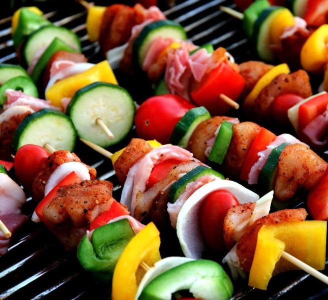 bbq barbecue kebab