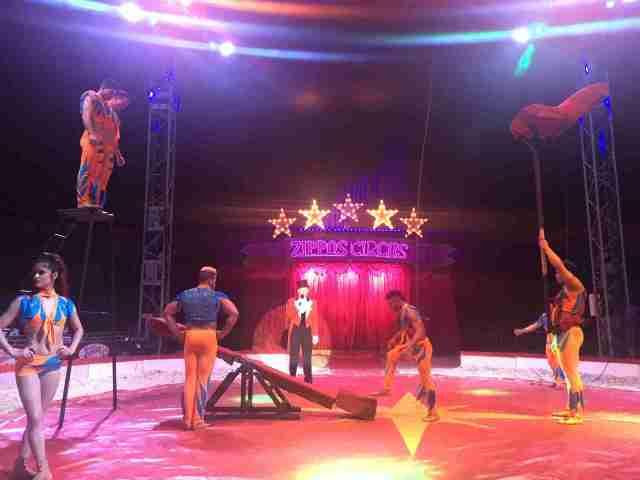 Zippos Circus Hermansito Troupe 1