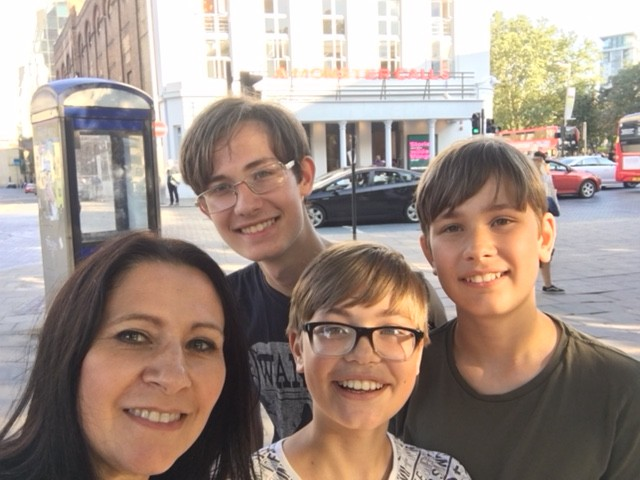 sullivan family a monster calls old vic theatre