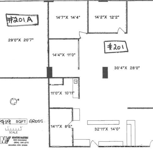 20621 Logan Avenue #201A (dimensions)