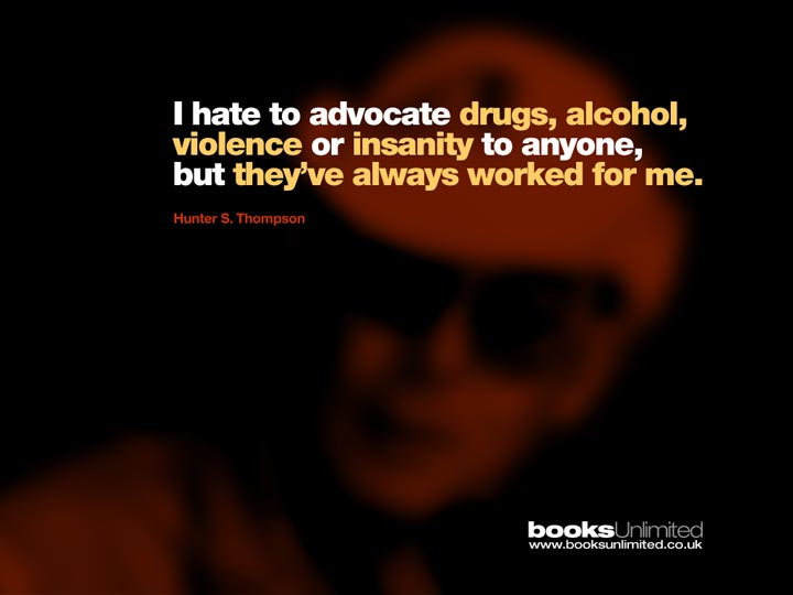Hunter S Thompson Quote Wallpaper Welcome To Adobe Golive 5