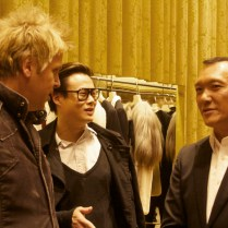Joe Zee and fellow stylists