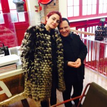 Mr. Alaïa and me :)