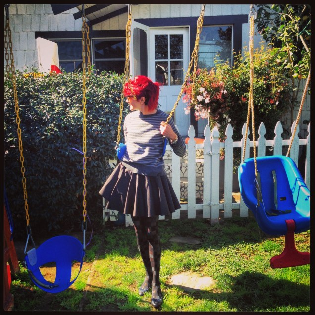The swing-set in my mind!