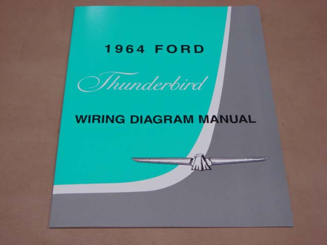 BLT WD64 Wiring Diagram 1964 Thunderbird For 1964 Ford Thunderbird