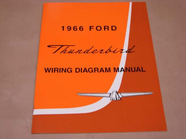BLT WD66 Wiring Diagram 1966 Thunderbird For 1966 Ford Thunderbird
