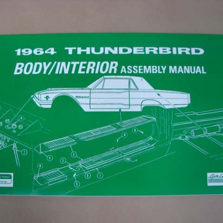 BLT OM60 Owners Manual For 1960 Ford Thunderbird (BLTOM60) - Larry\u0027s