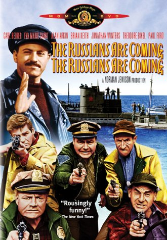 """No need for Russians to come ashore. They can invade through cyberspace (from 1966 movie """"The Russians Are Coming. The Russians Are Coming."""""""