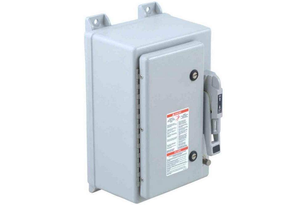 100 Amp Fusible Manual AC Disconnect Safety Switch - 600V AC - 3