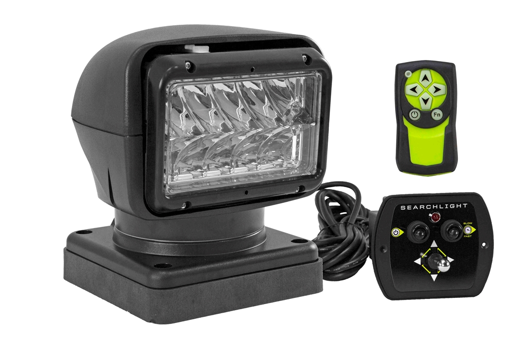 Larson Electronics - Golight Radioray Spotlight - Wired amp