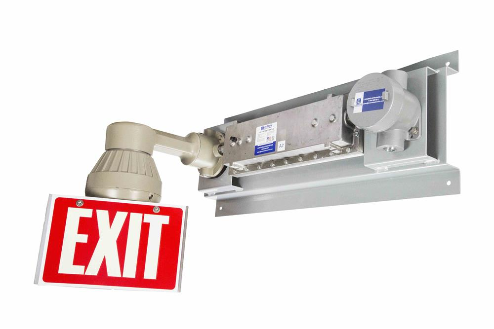 Explosion Proof Emergency Exit Sign - 90 Minutes Battery Backup