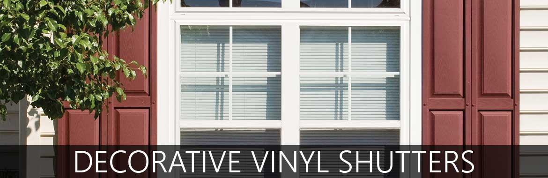 Vinyl Exterior Window Shutters
