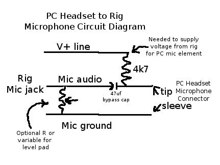 headset phone diagram