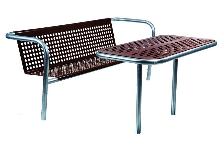 Dots Outdoor Steel Furniture Set Designed By Lars Vejen