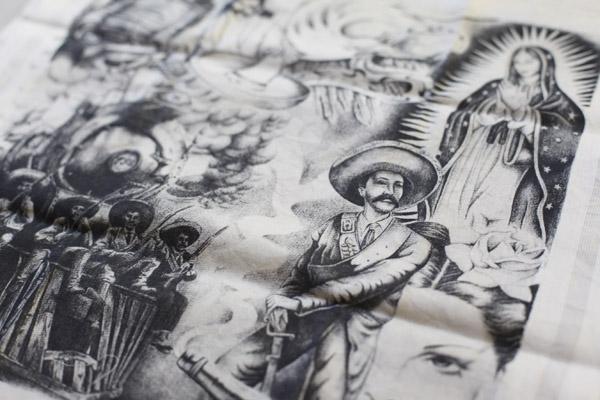 L'art des panuelos, mouchoirs brodés par les prisonniers latinos