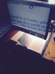 Morbror 92 läser om Goethe
