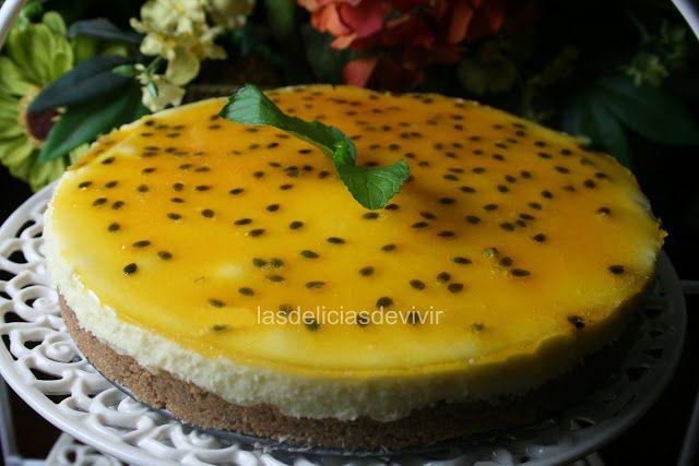 Pastel-de-queso-de-maracuya