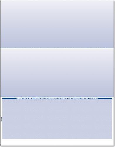 Bottom Blank Check Paper for ADP, Blackbaud, VersaCheck CP505 (1 Ream)