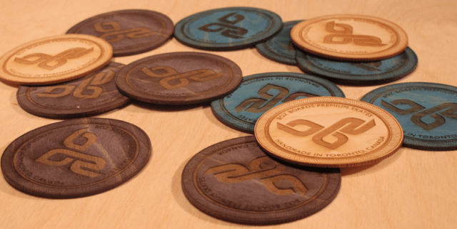 Boz Boards laser cut and engraved wood logos