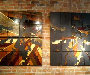 Laser cut Ontario lakes wood art prints by Dan Thompson-Walker - Print #3, 3.5
