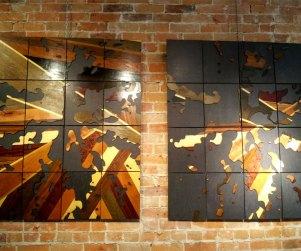 Laser cut Ontario lakes wood art prints by Dan Thompson-Walker - Print #3, 3.5