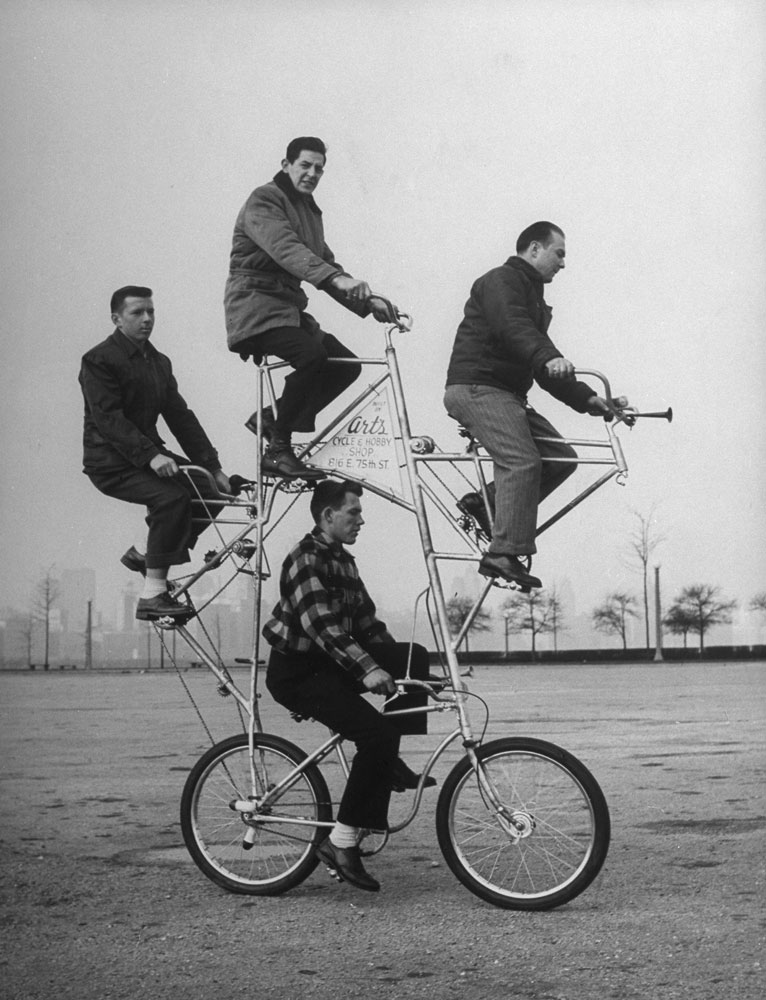 Four-Man-Bicycle