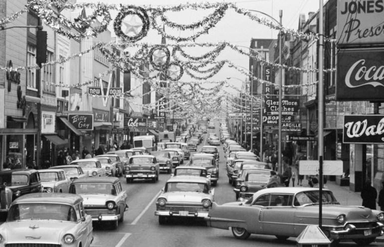 cars in street scene