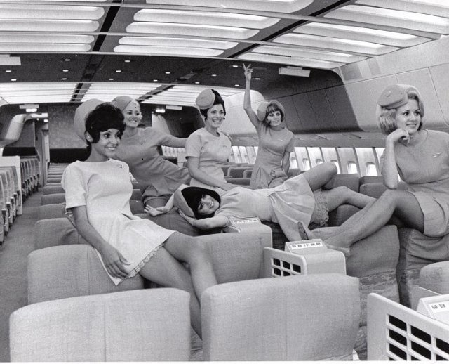 1960 flight attendants