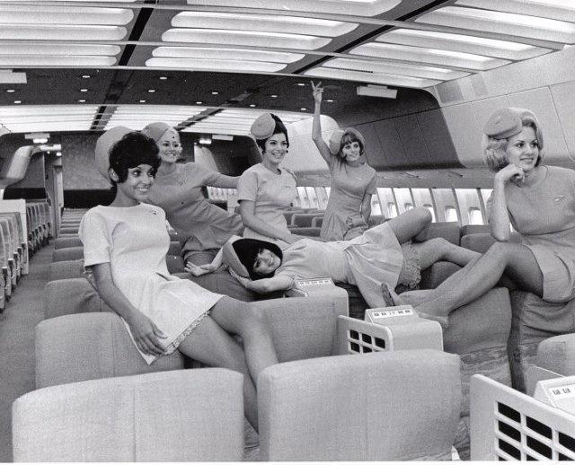 1960 flight attendants