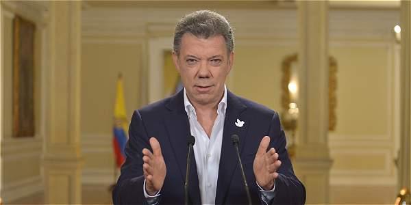 Juan Manuel Santos, presidente de Colombia. Foto El Tiempo