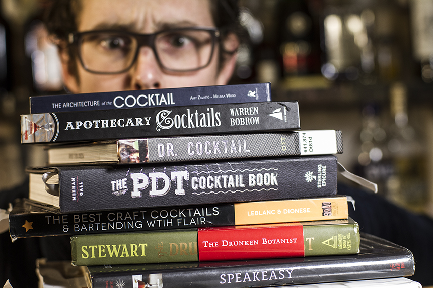 Drowning in cocktail recipes