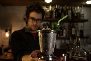 Recipe for Mint Julep - ready to serve