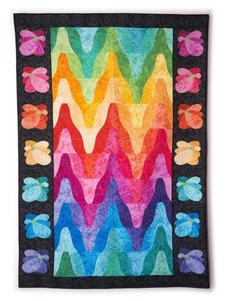 Cara Gulati - Rainbow Ripples - 104x183