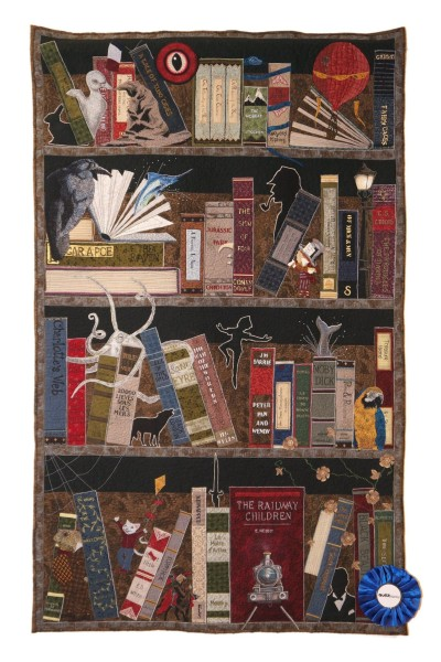 Helen Dickson - In the Library at Night - 75x130 -
