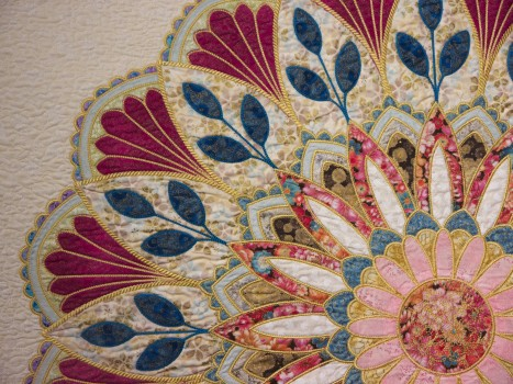Christiane Frechinos - Exubérance florale - Detail01