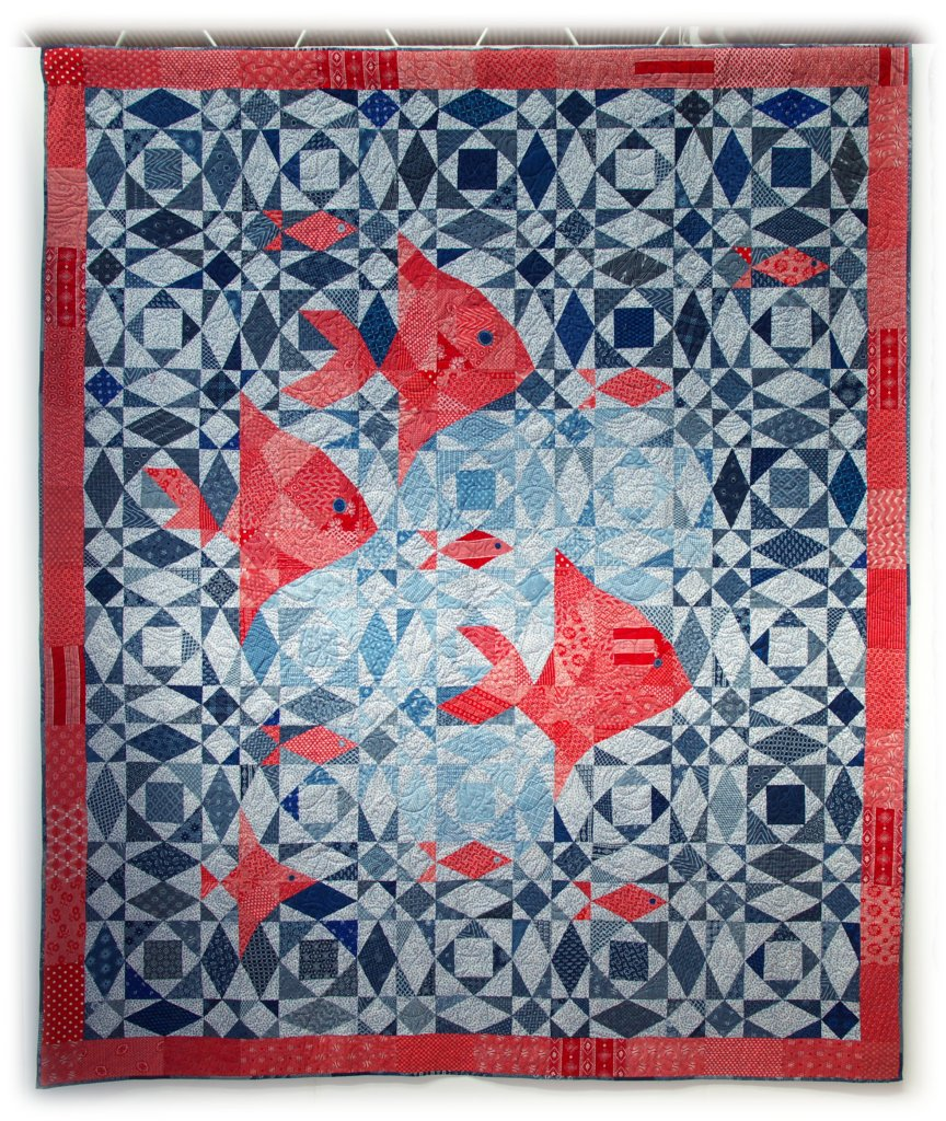 622-pam-stanier-and-quilters-trading-post-fish-at-sea