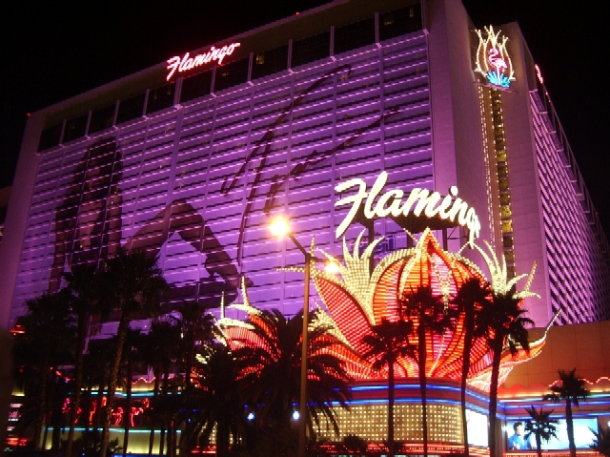 The Flamingo Hotel in Las Vegas